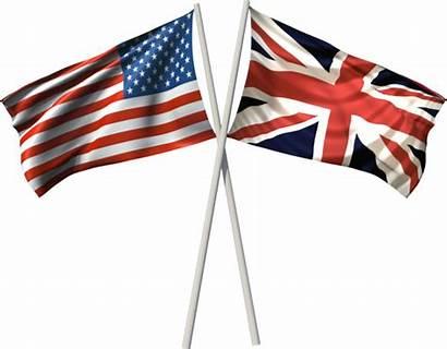 Flag British American English Britain United Kingdom