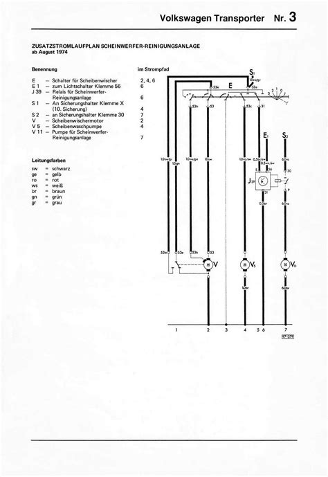 1976 Vw Bu Fuse Box by Vw Relay Wiring Diagrams 1978 Wiring Library