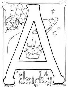bible alphabet coloring pages a new letter is added With bible alphabet letters