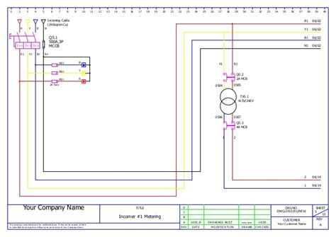 E Plan Electrical Drawing Image by Mcc Panel Wiring Ga And Bom Sle