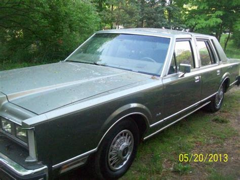 automotive air conditioning repair 1984 lincoln town car spare parts catalogs purchase used 1984 lincoln town car signature sedan 4 door v8 in hastings michigan united states