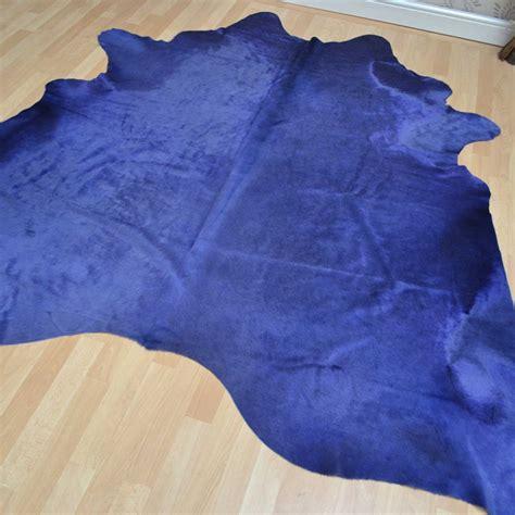 Cowhide Rugs Uk by Cowhide Rug In Plain Purple Buy From The Rug Seller Uk