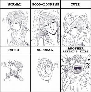 Drawing style meme by U-JI on DeviantArt