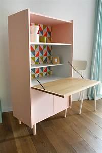 secretaire vintage anatole les jolis meubles With un secr taire meuble