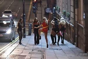 Halloween chaos as scantily-clad drunken Newcastle ...