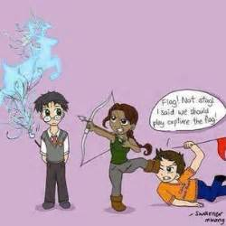 Capture the Flag - Percy Jackson & The Olympians Books Fan