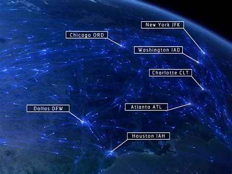 24 Hours Of Us Air Traffic Business Insider