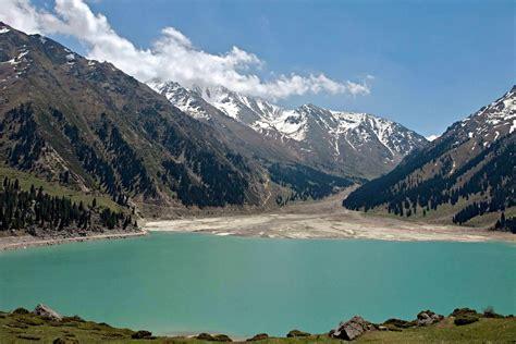 The Big Almaty Lake and surroundings · Kazakhstan travel ...