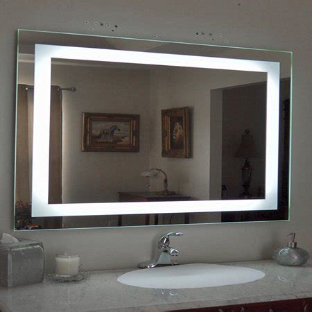 Bathroom Mirrors Lighted by Ktaxon Anti Fog Wall Mounted Lighted Vanity Mirror Led