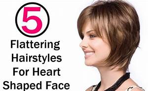 5 Flattering Hairstyles For Heart Shaped Face Style Presso
