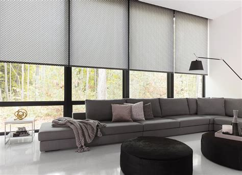 motorized roller blinds motorized blinds and motorized shades the shade