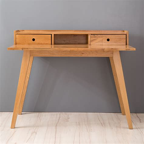 solid wood writing desk with drawers japanese white oak solid wood desk with drawers nordic