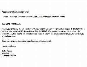 confirmation email template 9 premium and free download With confirmation email template job interview