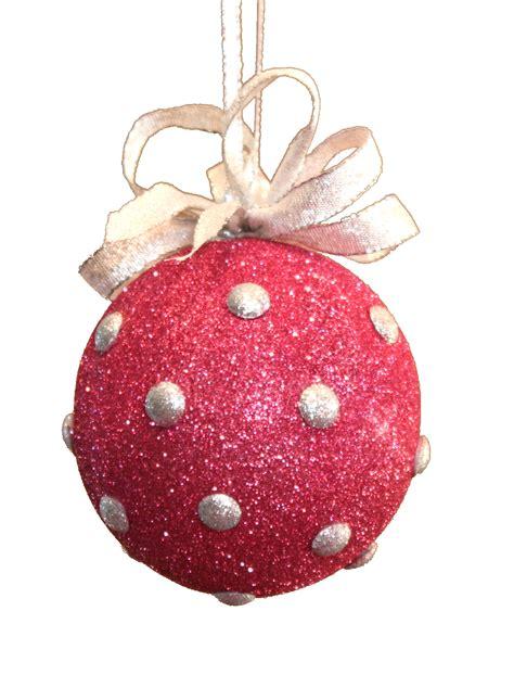 twelve balls of christmas day 9 glitter polka dots