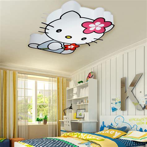 childrens lights for bedrooms modern led hello kitty cat ceiling lights fixture children 14809