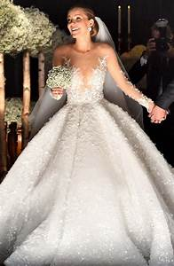 victoria swarovski39s wedding gown costs 13 million With swarovski wedding dress