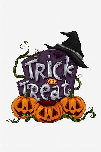 Halloween Clipart Trick Treat Party Background Transparent
