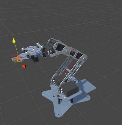 Robotic Arms Kinematics Animation Inverse Arm Following