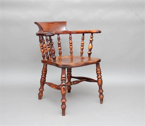 wooden captains chairs uk yew wood captains chair antiques atlas