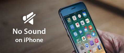 iphone has no sound how to fix no sound on iphone problem