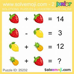 Solvemoji Emoji Math