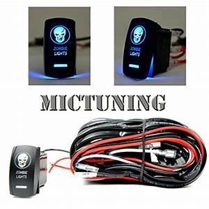 Mictuning Led Light Bar Wiring Harness