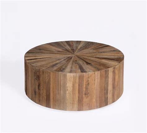 beach wood coffee table round wood panel coffee table beach style coffee