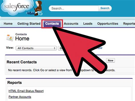 create  email template  salesforce  steps