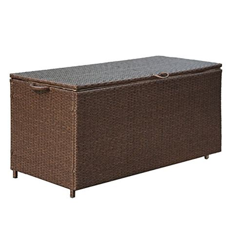 patiopost freeport pe wicker outdoor storage patio