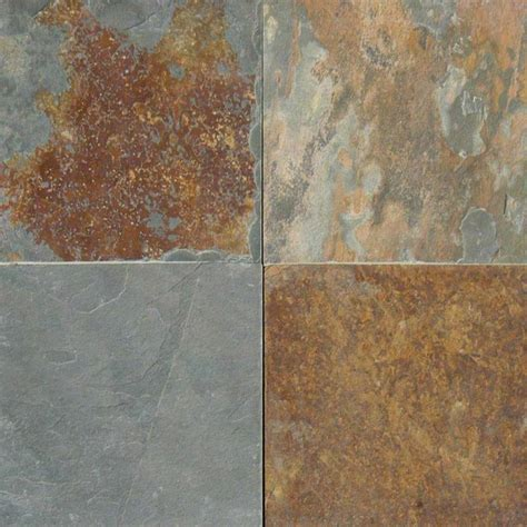24x24 Inch Granite Tile by California Gold Slate Collection Msi