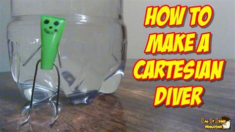 How To Make A Cartesian Diver Youtube