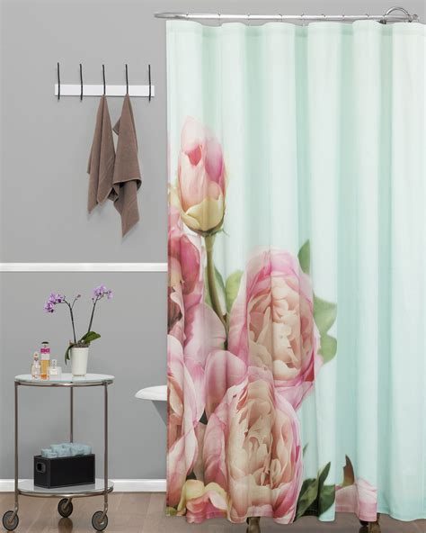 essential home shower curtain photo real floral shop