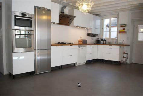 sol cuisine béton ciré beton cire sol cuisine meilleures images d 39 inspiration