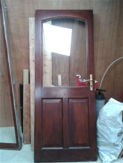 exterior solid wood door and patio doors for sale in birr