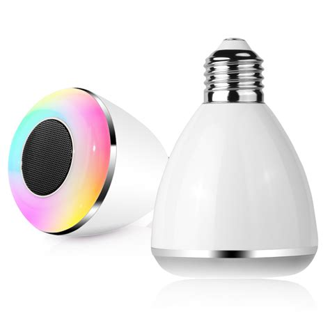led multicolor light bulb bluetooth speaker dl pc002