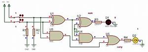How Calculator Works  Schematic Circuit Diagram