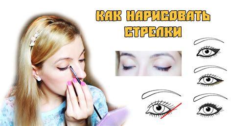Как нарисовать стрелки на глазах карандашом и подводкой