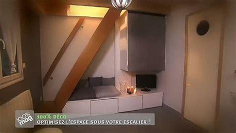 casier rangement bureau faire un meuble sur mesure sous l 39 escalier minutefacile com