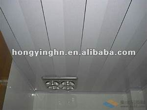 beautiful plafond pvc salle de bain pictures bikeparty With lambris pvc plafond salle de bain