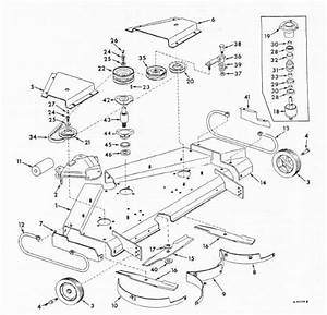 Cub Cadet Ltx 1045 Mower Deck Diagram