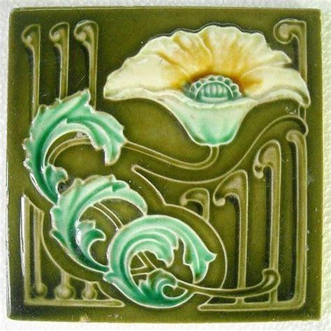 fileart nouveau majolica ceramic tiles ca