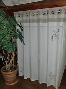 Rideaux Dentelle Ancienne : rideaux de placards blanche l 39 a fait ~ Teatrodelosmanantiales.com Idées de Décoration