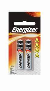 Energizer Max Alkaline Aaaa Batteries - 2-pack