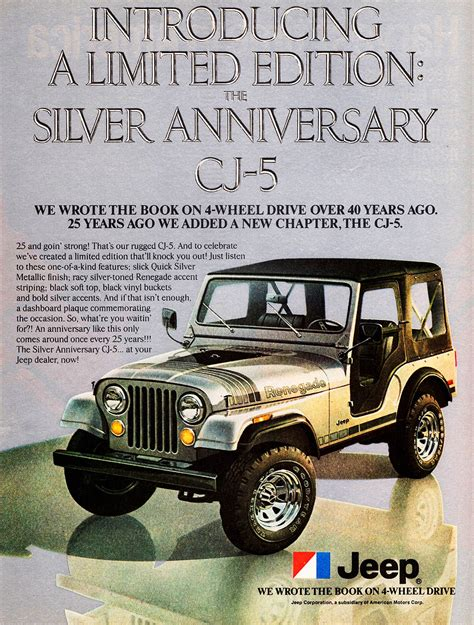jeep wrangler ads 1979 jeep cj 5 ad classic cars today online