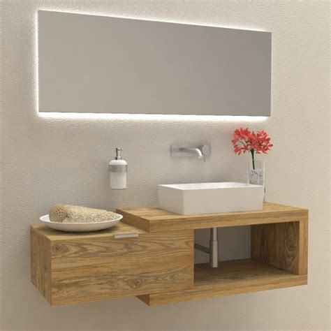 arredo bagno completo prezzi mobili e arredo bagno in legno massello arena 60 mobile