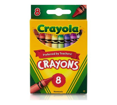 Image result for 8 crayon box