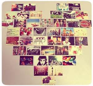 Heart Collage On Wall
