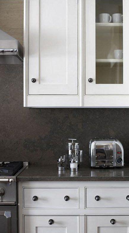dark neutral kitchen grey kitchen walls espresso