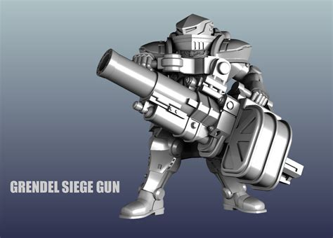 gan siege preview of all ten heavy trooper miniatures dreamforge
