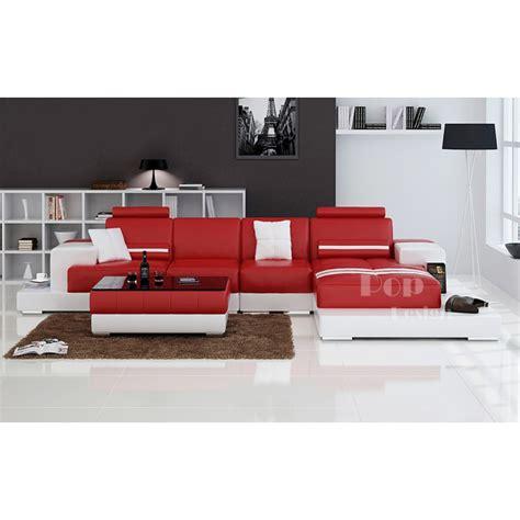 canapé cuir design luxe canapé d 39 angle design en cuir pino pop design fr